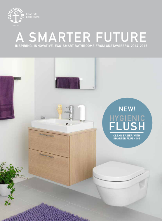 Gustavsberg's bathroom catalogue 2014-2015