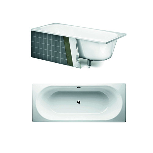 Built in bath YJ7 1380.With overflow hole