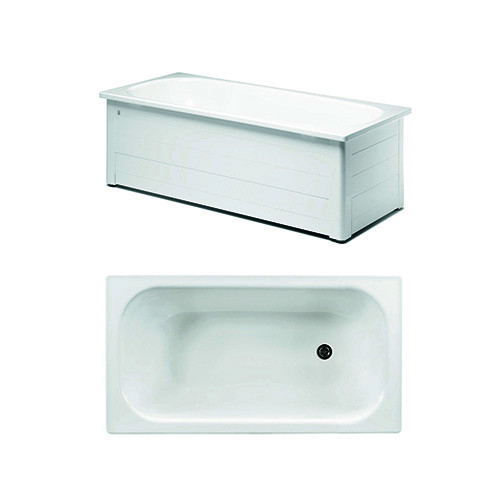 Bathtub with panels YH3 1300.With full panel, white