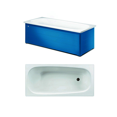 Bathtub with panels YH3 1600.With full panel, Moody Blue