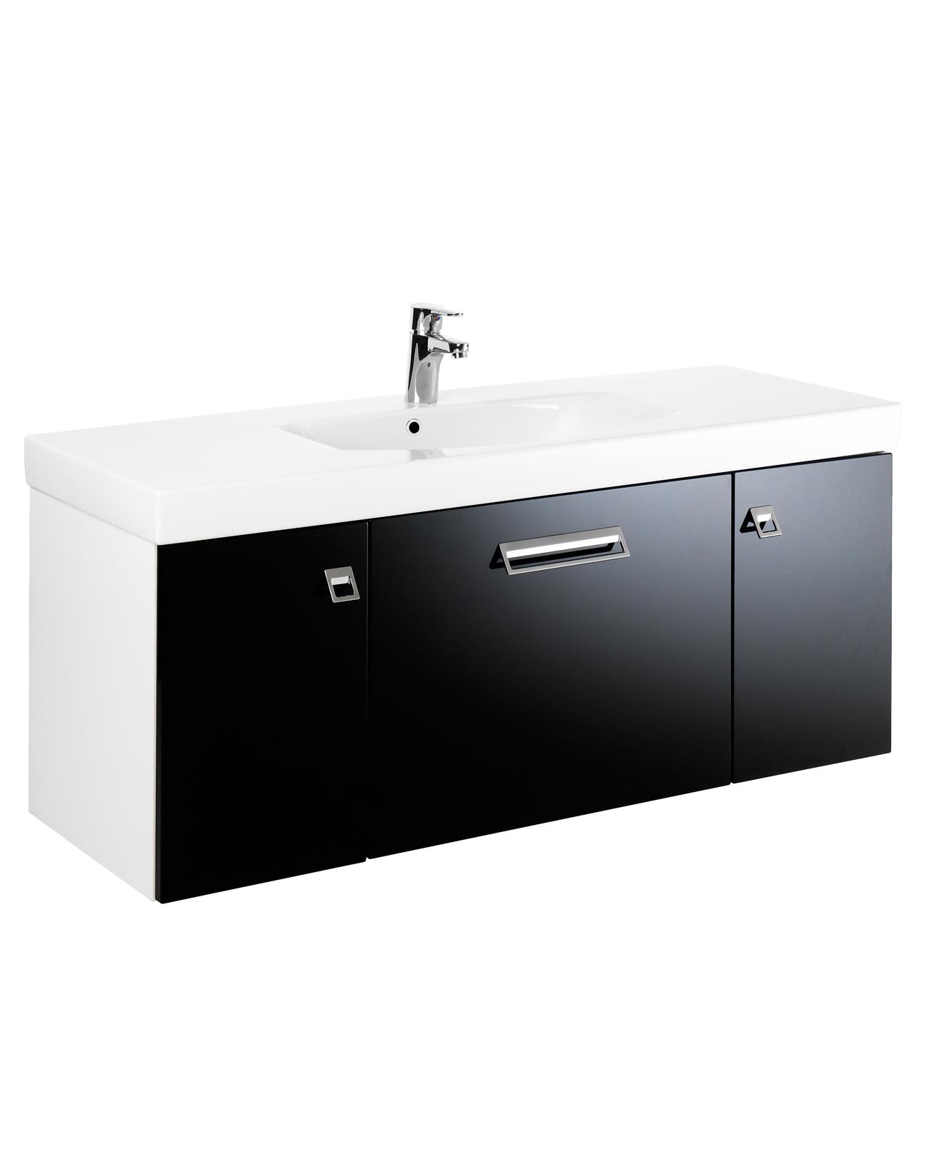 Flexibla badrumsmöbler med stor badrumsförvaring - Graphic