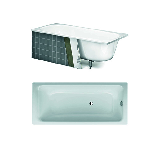 Built in bath YJ7 3410.With overflow hole