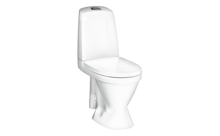 YS1 1591HF.Dual flush 3/4L, Soft Close/Quick Release seat, Ceramicplus
