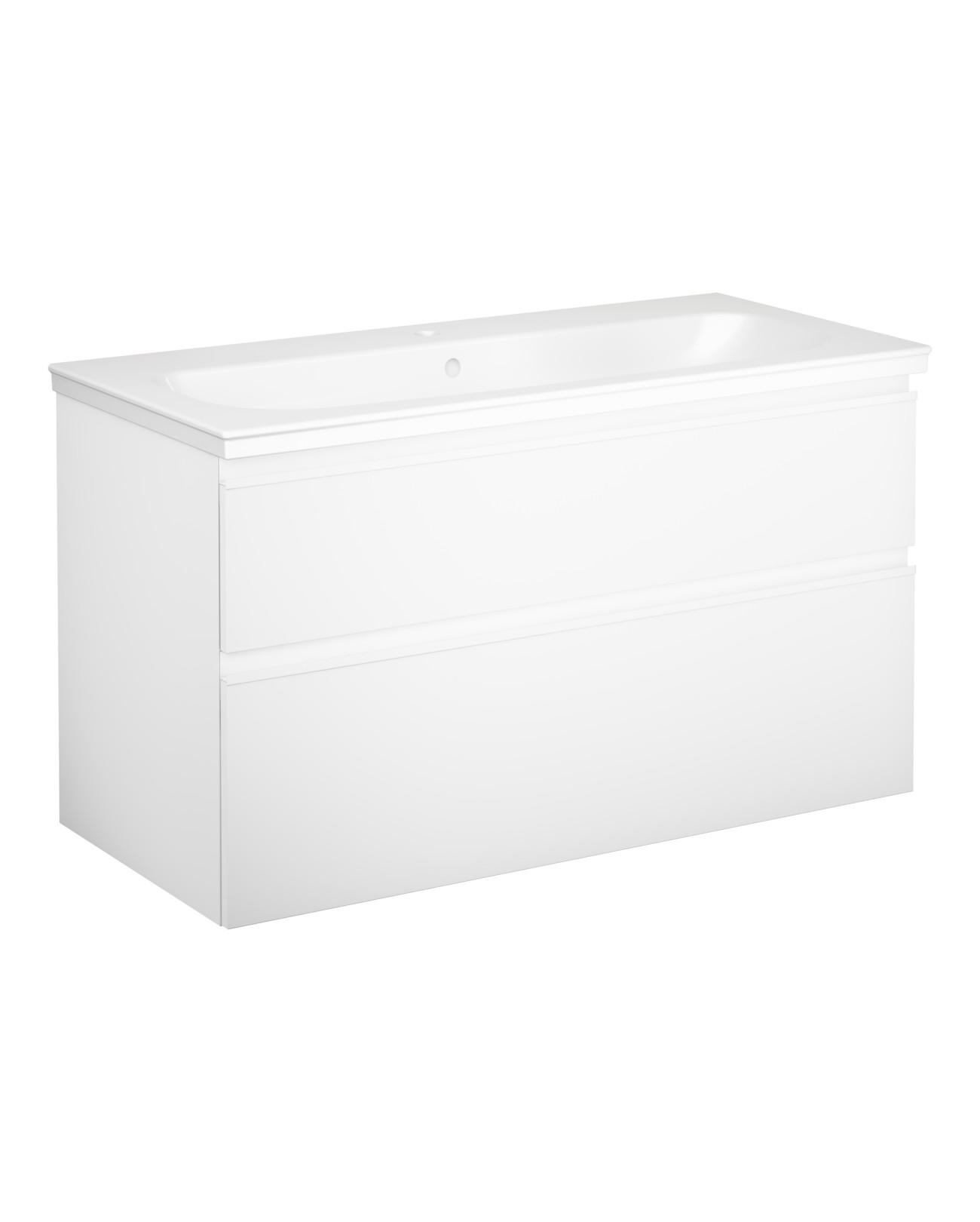 Flexibla badrumsmöbler med stor badrumsförvaring   graphic