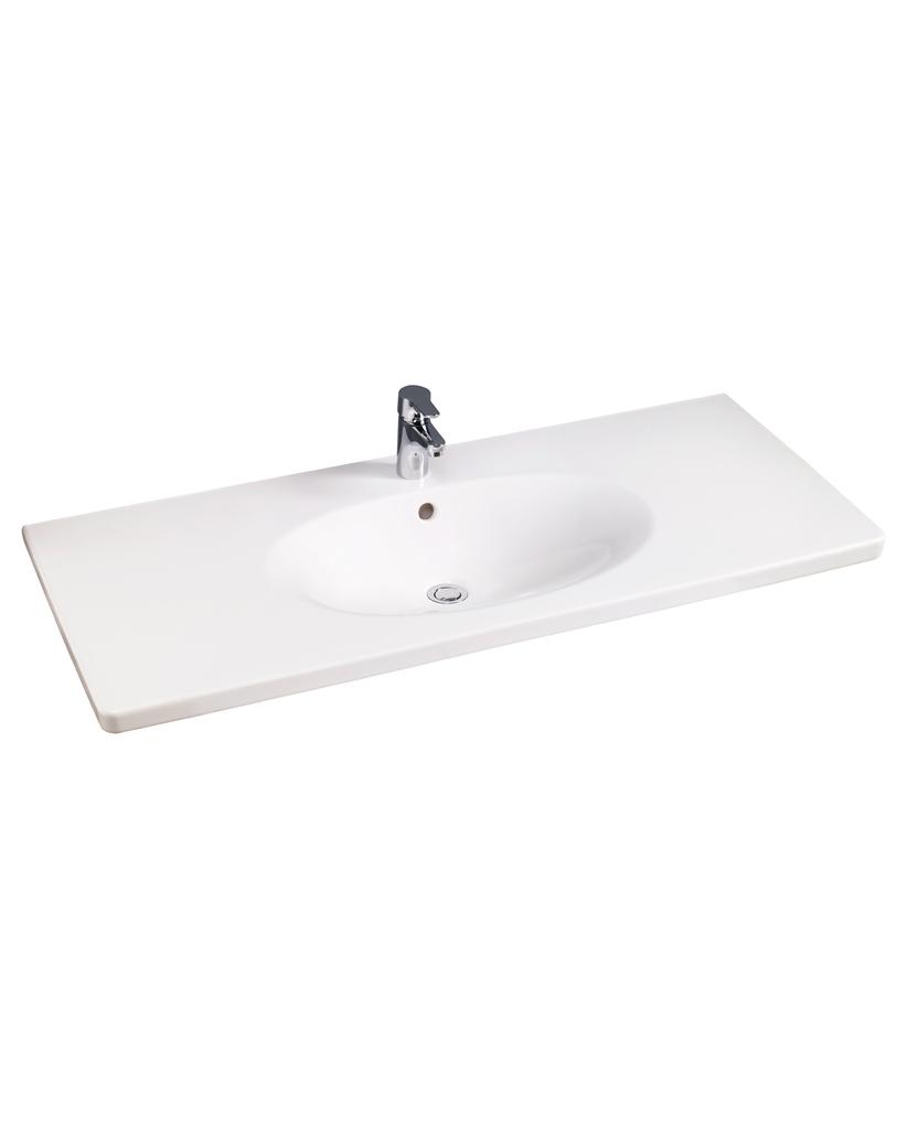 Tvättställ för bänkskiva   flexibelt   gustavsberg