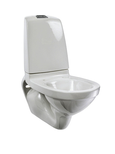 YS1 5522L.Dual flush 2/4 L, without seat, Ceramicplus