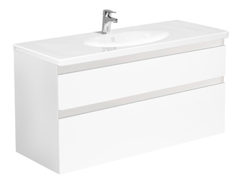 Bathroom cabinets YS1 A905.Glossy white, without sink