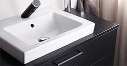 Bathroom sink for countertops YK5 4601.Ceramicplus