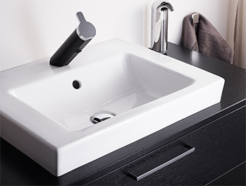 Bathroom sink for countertops YK5 4551.