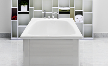 Bath panels YH3 7010.Full panel, white
