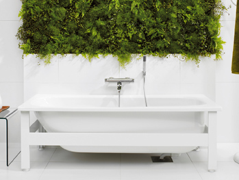 Bathtub with panels YH3 1571.White