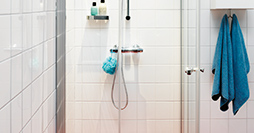 Shower doors YS1 NCA.80 x 90 cm