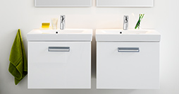 Bathroom cabinets YL1 1860.Perfect White, without sink