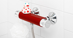 YS8 0002-UB-YS8-TM8277.Passionate Red, with shower connection downward, 150 c-c