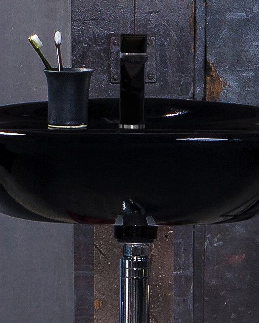 Bathroom sinks ZZB 410360.Ceramicplus, black