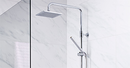 YS1 0002-UB-YS1-TM2260.Shower package incl. G1 ceiling shower 150 c-c