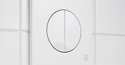X09 GB19211020_1.Dual flush, white