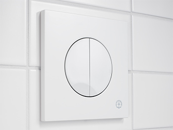 Flush button X09 GB19211020_1.Dual flush, white