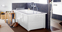 Bathtub with panels YH3 1570.With full panel, white