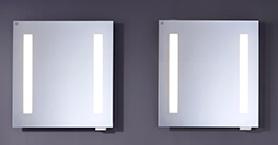 Bathroom mirrors YL1 1880-60.With lighting and electrical outlet