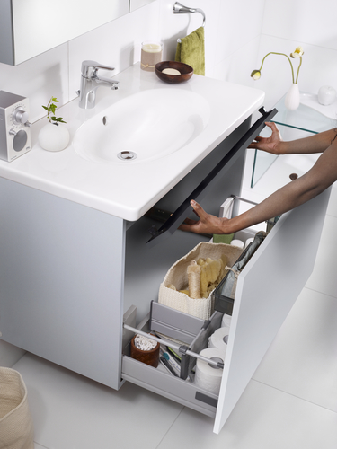 Bathroom sink for countertops YS1 5512.Without overflow*, Ceramicplus