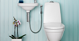 Toilets YS1 5500.Dual flush 4/2 L, without seat