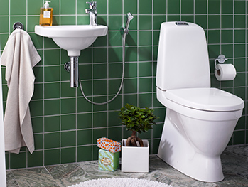 Toilets YS1 5510.Single flush 4 L, Soft Close/Quick Release seat, Ceramicplus
