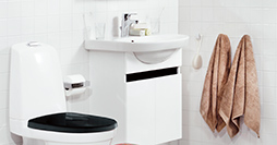 Bathroom cabinets YS1 A900.White, with sink 5550