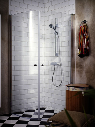 Shower set YS1 0002-UD-YS1-TM0003.Chrome