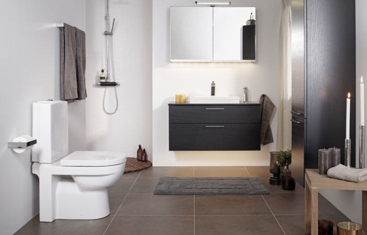 Artic bathroom collection Gustavsberg