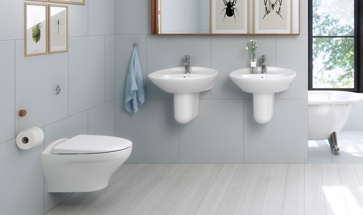 Bathroom collection Estetic Gustavsberg