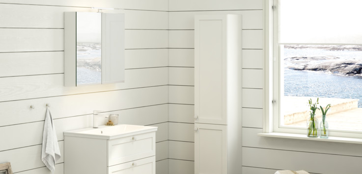 Bathroom collection Artic from Gustavsberg