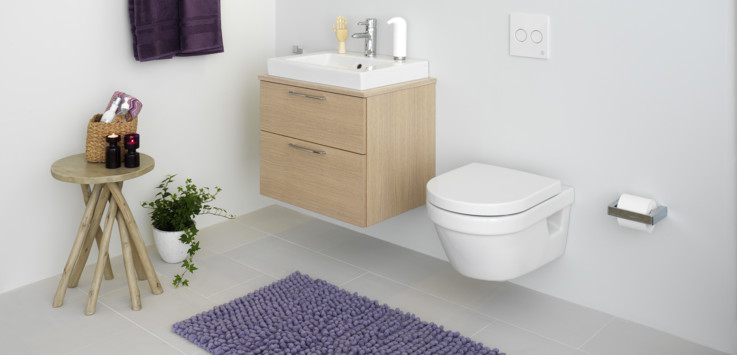 Small and light bathroom - Gustavsberg