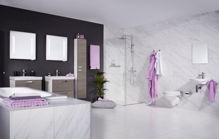 Glamorous Bathrooms large and glamorous bathroom - gustavsberg